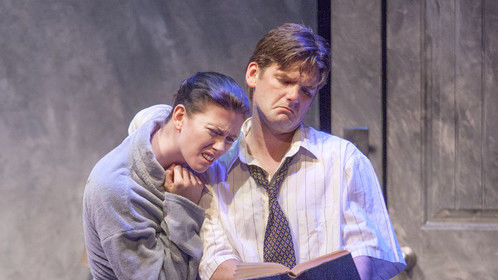'Kink' at the Neil LaBute New American theatre festival. With Laura Sexauer and Nathan Bush.