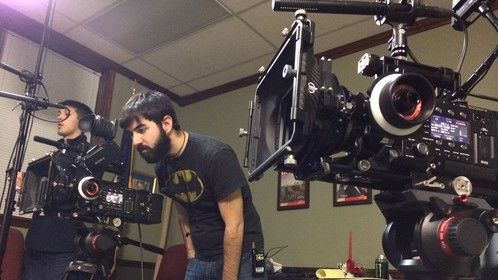 Director of Photography for a feature film; shooting with Sony F-55's.