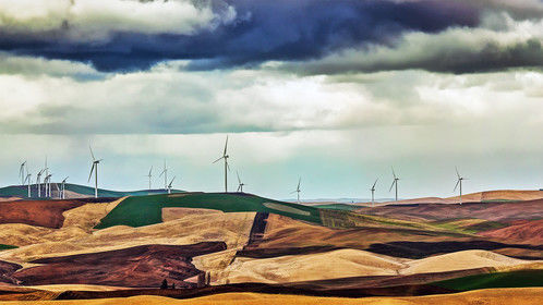 Windmills of the Palouse