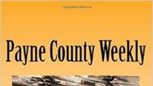 Cover of my 2012 novel, Payne county Weekly. First of a series.
