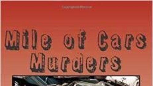 Cover of the first novel released in 2014, Mile of Cars Murders. It is a followup to Payne County Weekly.