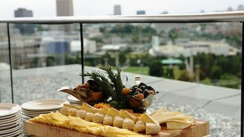 Skylounge Appetizer Display