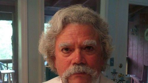 Me as Mark Twain
