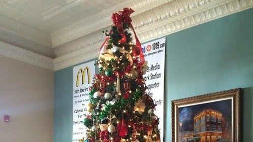Our Nutcracker Christmas Tree! Merry Christmas to you all!