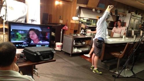 "Filming ""Lovesick"""