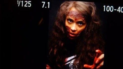 Zombie shoot,  SFX Make up Artist