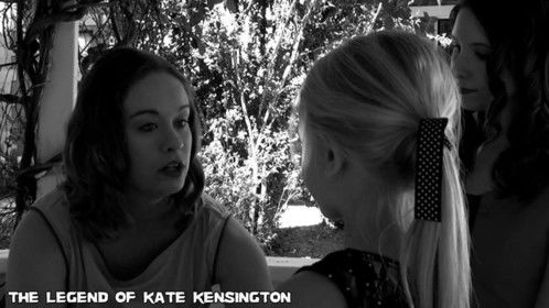Carol Kensington-Tompkins, played by Stefanie Davis, comforts her daughter Ellen Tompkins, played by Cheyenne Killinger