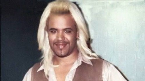 This was taken on the set after playing a WWE wrestler in 'Man on the Moon' for Milos Forman in 1998.  I also used this as a headshot when casting was on the upswing for the Rick James biopic. I had to show I had the nerve! That's six hours worth of bleach on the hair, btw (I kept roots for wrestler realness!)