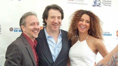 With Federico Castelluccio at Long Island International Film Expo