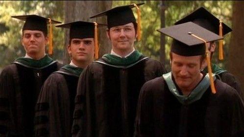 """Patch Adams"" (1998) Graduation Scene with Robin Williams"