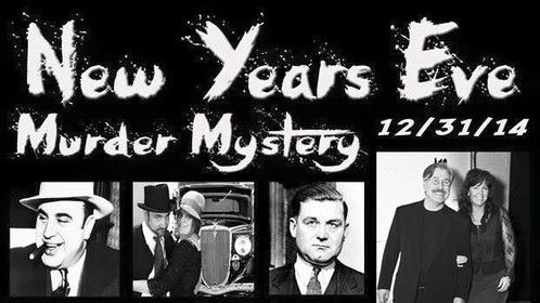 I will be portraying John Dillinger in a New Year's Murder Mystery with clues and everything fun for a New Year's adventure...:)Jhoney