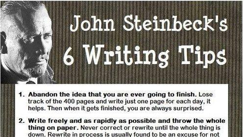 6 Writing Tips