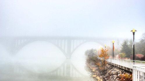 Henley Bridge at Dawn, Knoxville, TN