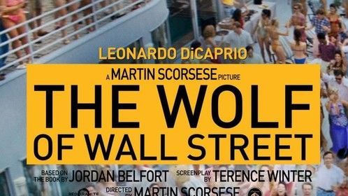 Hey LOOK it's ME!!! :) Wolf of Wall Street