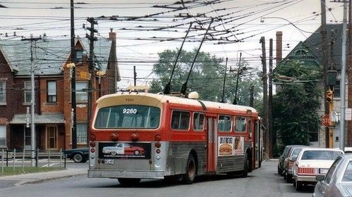 the trolley bus