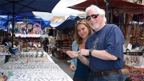Shopping at the Mercado Artesanal La Mariscal 2014
