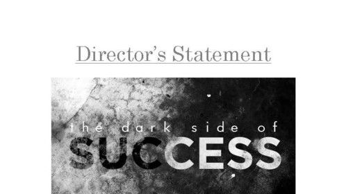 Director's Statement - Page 01