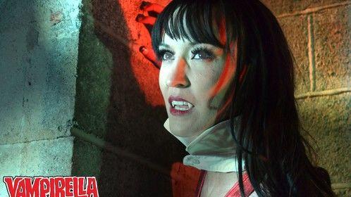 VAMPIRELLA promo shot. Featuring the sultry, Amanda Collins.