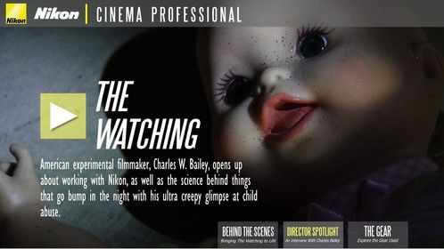 "Was sent this from Nikon in relation to a short film I was asked to direct concerning ""child abuse""."