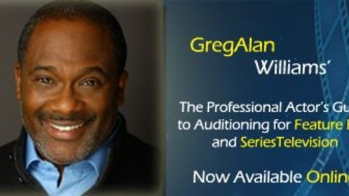 Study with GregAlan online - https://www.udemy.com/gregalan-williams-actors-guide-to-auditioning/?couponCode=ST32