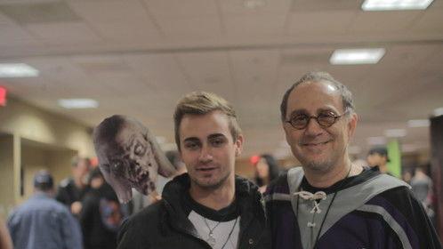 Me, and John Kassir
