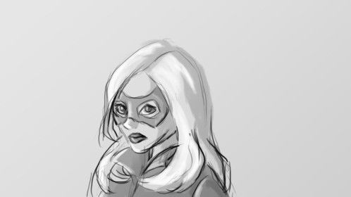 Laurel Lance as Black Canary. Arrow