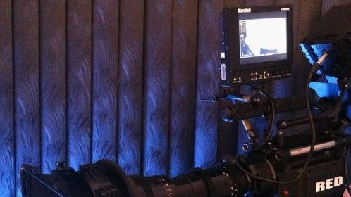 Our Red One Camera Package on set