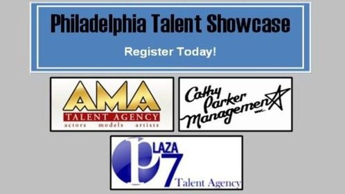 Wickline Casting presents an opportunity for you to display your talent in front of top Philadelphia managers! Learn what agents look for, your type, how agents will market you, and be among the first called for auditions. A panel discussion involving each of the agents will allow talent to actually have face time to meet and learn valuable information about the industry.  If you plan on working in the Philadelphia area, this showcase is a must.  Ages 10 and up.  Beginners welcome!   Panelists: Roe Lennon, AMA; Cathy Parker, Cathy Parker Management; Linda Wisch, Plaza 7  Date: Sunday, February 22nd  Time: 9:30am - approx. 1:30pm Fee: $99 (+$20 admin. fee) Age Range: 10 and up   Registration online at www.wicklinecasting.com or call us (215) 739-9952 to register over the phone!