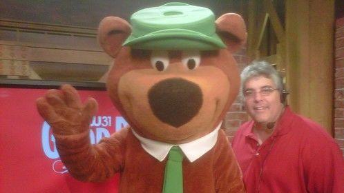 Hey its Yogi Bear and me..