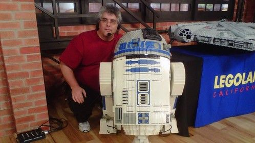 R2-D2 is made of Legos