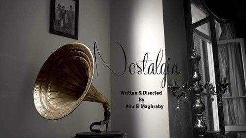 "Poster for my short film ""Nostalgia"""