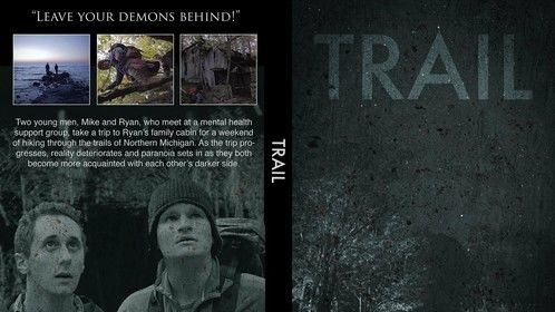 Artwork for the proof of concept video adapted from the feature script, Trail.