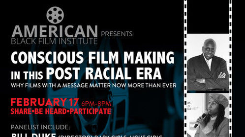 Come and support The American Black Film Institute NYC and BE SEEN, BE HEARD & BE SEEN.