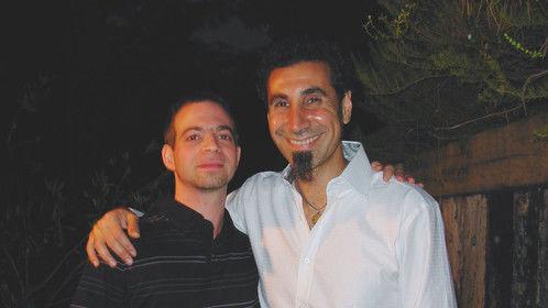 Myself and friend Serj Tankian