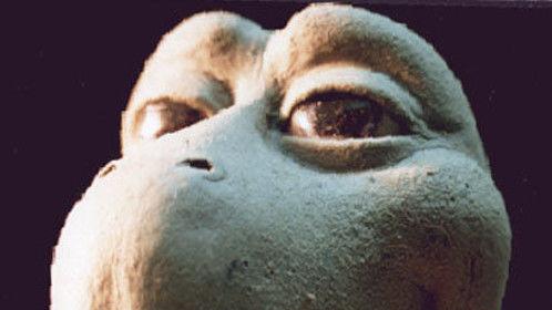 Photograph © Michael Moustafi 1992 Initial design maquette for Flotex commercial
