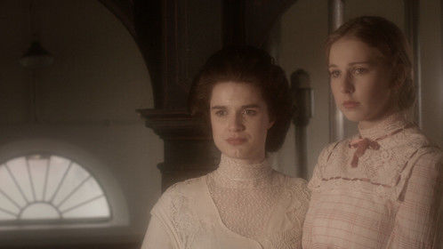 Sophie Begg (left) portrays Marianne Wilton and Leanne Rutter portrays Henrietta Wilton in The Wilton Sisters