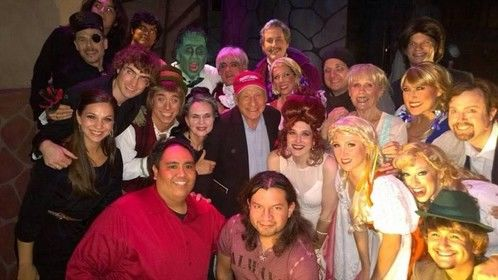 Mel Brooks at YOUNG FRANKENSTEIN in L.A.