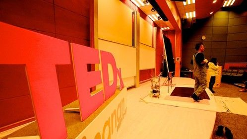 Ted X Lingnan University stage