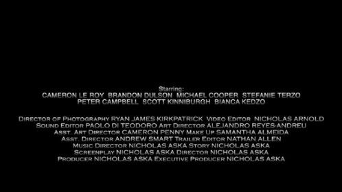 Always stay for the credits..
