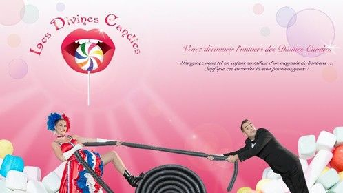 """""""Les Divines Candies"""": My vision of the French Cabaret"""