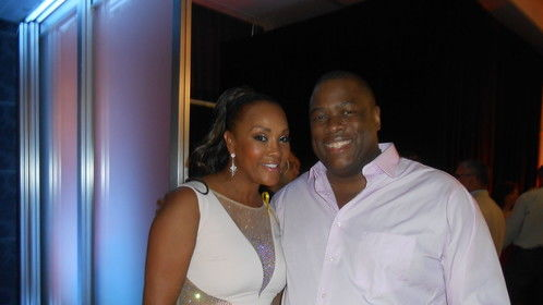 Vivica A. Fox and Michael J. Arbouet