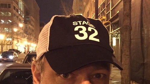 Stage32 Meetup in DC...scored a Hat...thanks Shannon