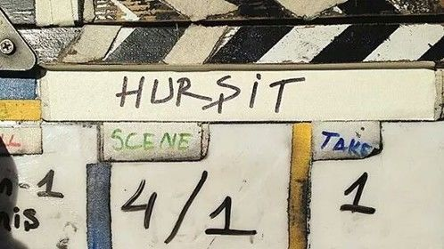Yeah... the set is ready and action! :) #HursitFilm