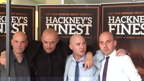 Hackney's Finest world premiere, London. (2014)