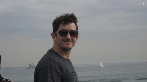 Me on a boat in LA