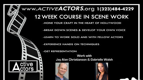 Active Actors Scene Workshop In Hollywood. http://www.activeactors.org