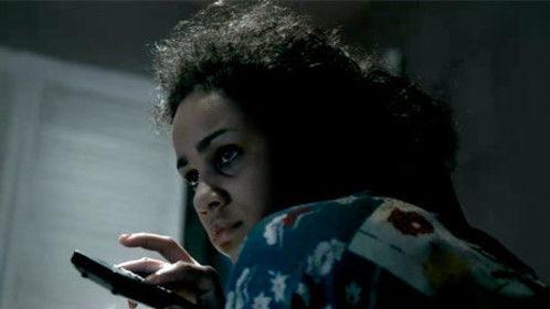 Zawe Ashton depictes,  Joyce Carol Vincent in the harrowing, true life (docudrama)  movie,'' Dreams Of a Life''  Director: Carol Morley.     Make Up & Hair: Allison Edwards.