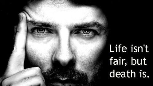 Life isn't fair, but death is--Hades