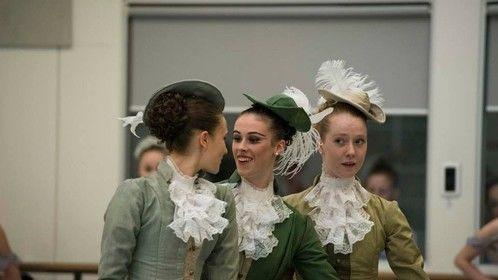 Sleeping Beauty Dress rehearsal 2014