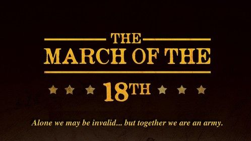 """The March of the 18th"" Click for full size/SCREENPLAY AVAILABLE"